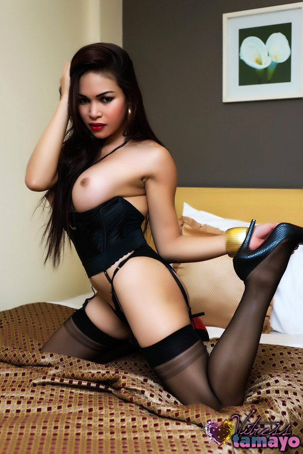 Curvy Japanese Asian Tgirl Cums Ins Stockings Beautiful Chinese Girl