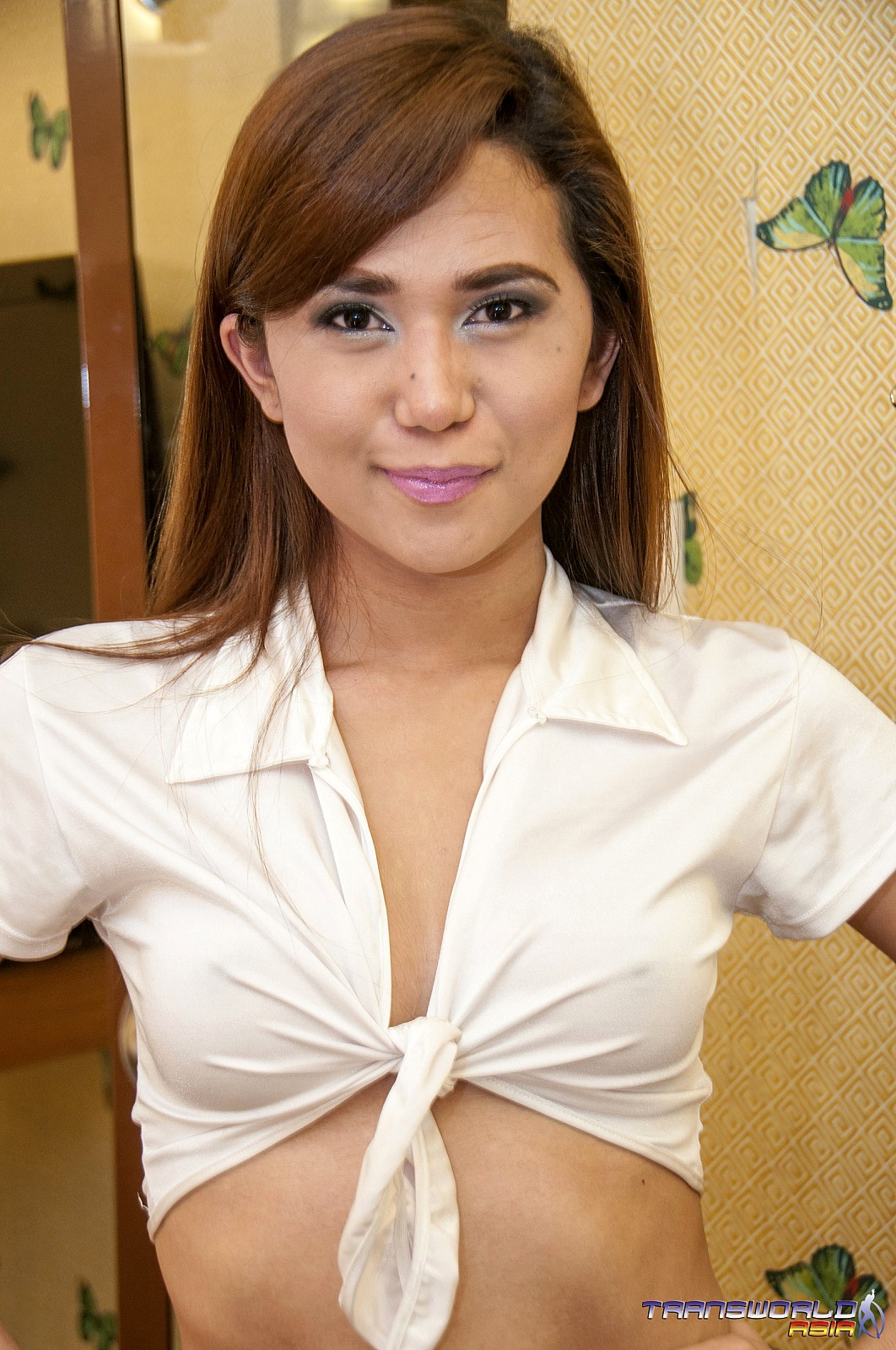 Thai School Girl Tgirl Has A Really Huge She Tool