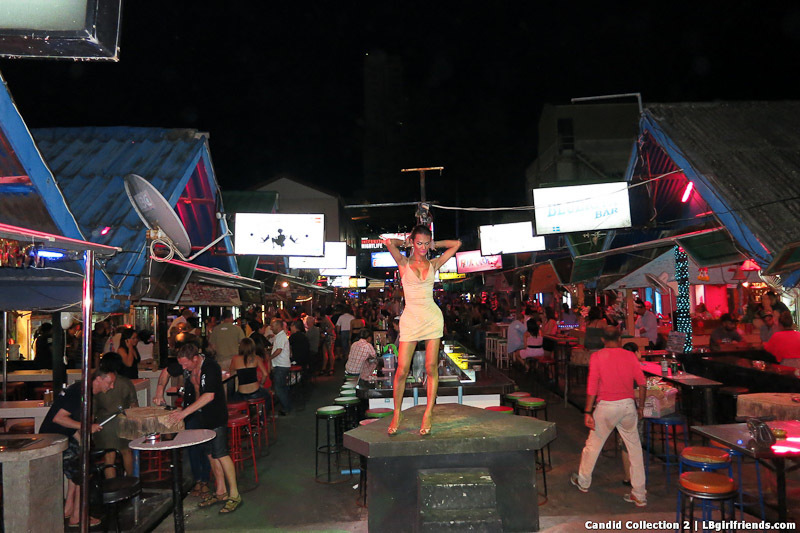 View Of Flirty Walking Street Transexual Hookers And More