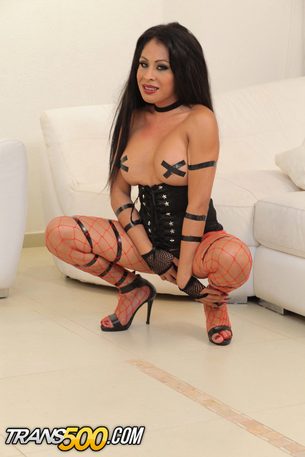 Watch Suggestive TS Tania Q Rubber Toy Her Thirsty Ass!