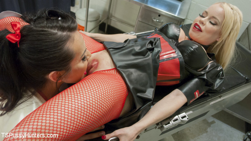 Massive Booty Nurse Gives Another Massive Booty Nurse A Pelvic Exam With Her Tool