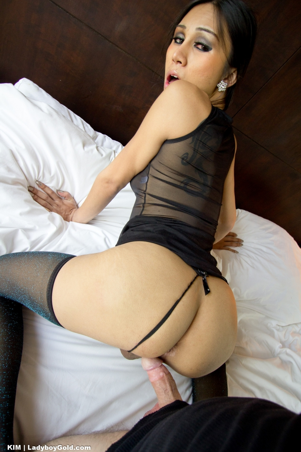 Kim Gives A Arousing Rimjob Blowjob And Has Her Gaping Butt Filled