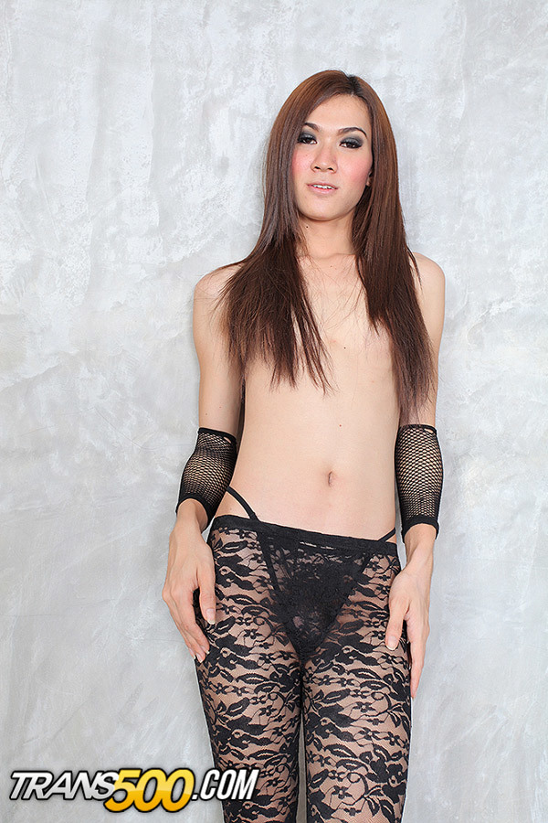 Marvelous Thai Transsexual Bam Takes In Some Enormous Penis Up That