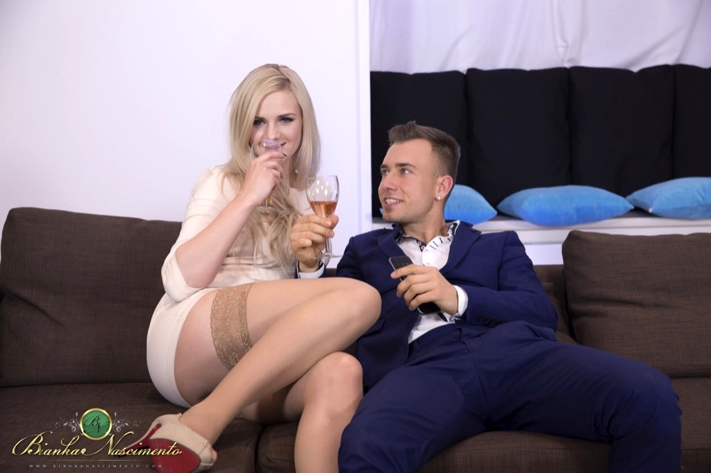 Perfect Couple Gets A Good Taste Of Rough Nailing From Bianka's Throbbing Dick